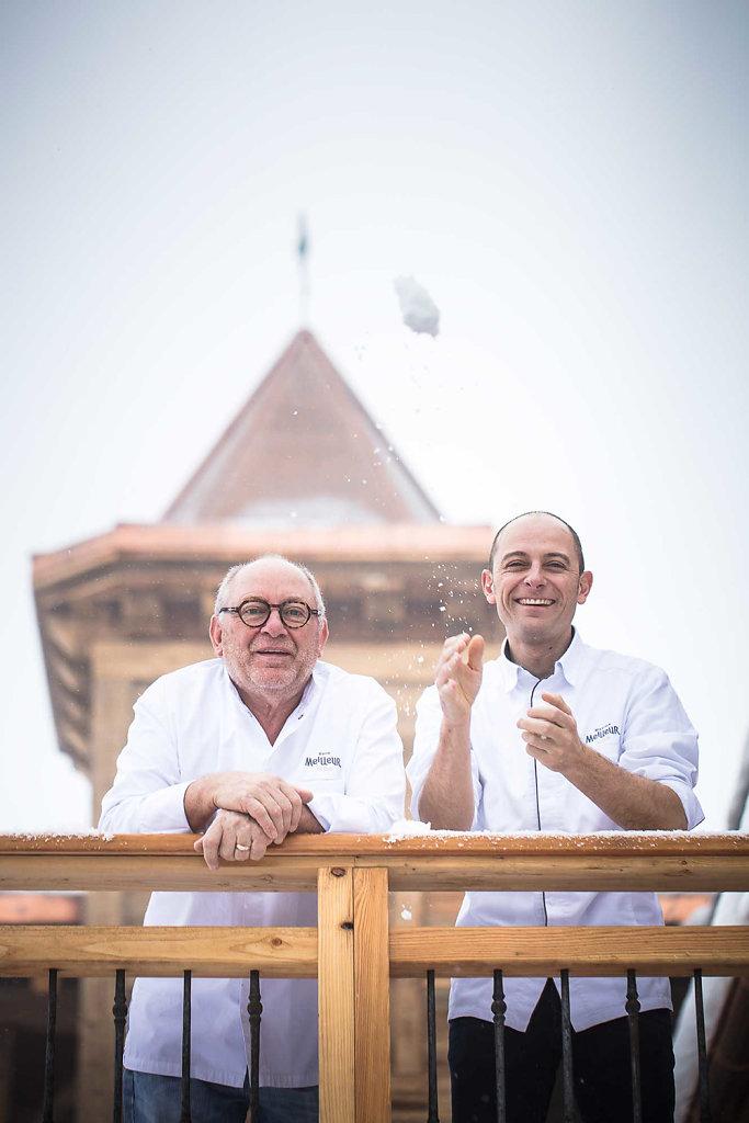 René et Maxime Meilleur - La Bouitte